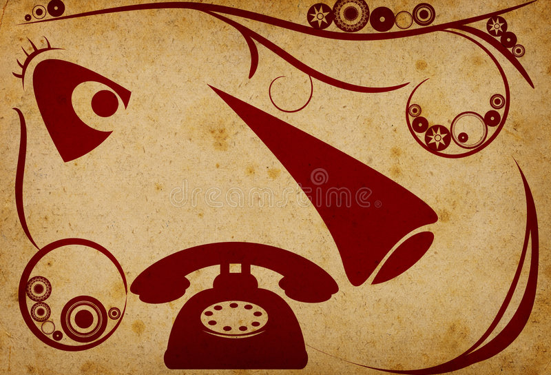 Download Retro Style Paper Background Stock Illustration - Image: 3388853