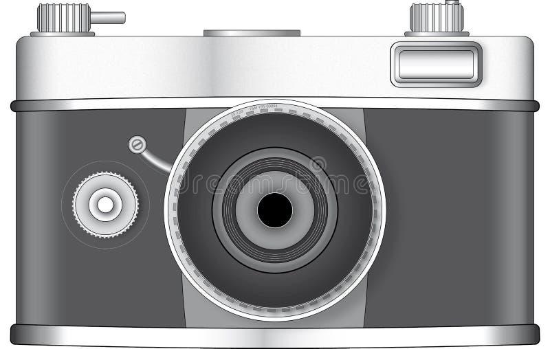 Retro style photo camera stock photos