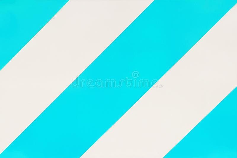 Striped turquoise and white color background. Striped turquoise and white color abstract background royalty free illustration