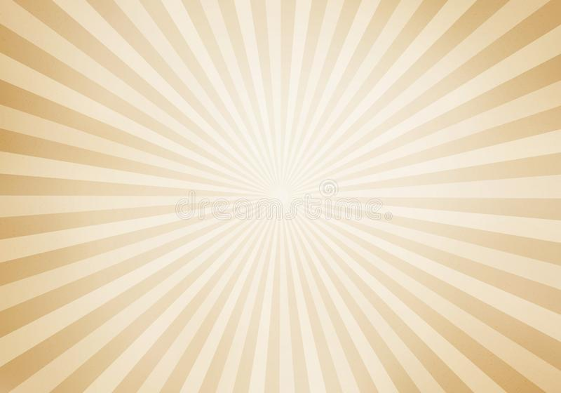 Retro style sunburst and rays comic cartoon background. Abstract vintage grunge with sunlight vector illustration