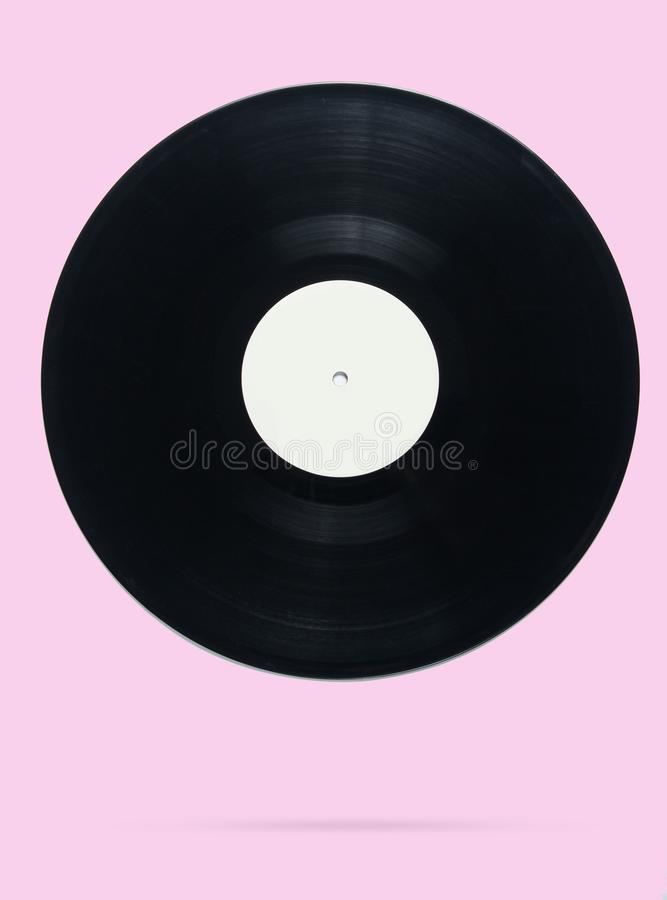 Retro style vinyl record royalty free stock images