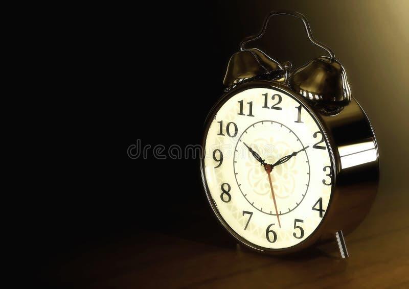 Retro stylu zegar obraz stock