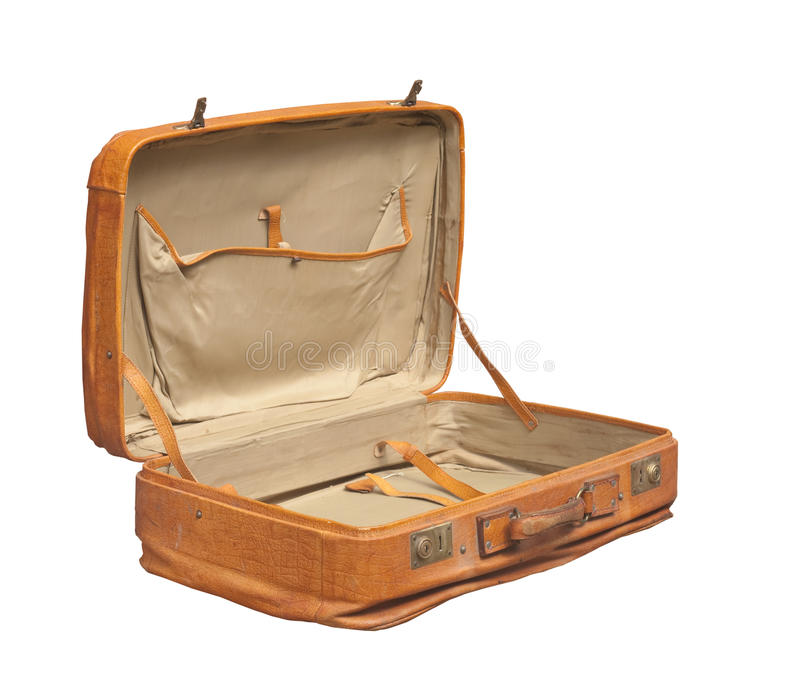 Retro Suitcase royalty free stock image