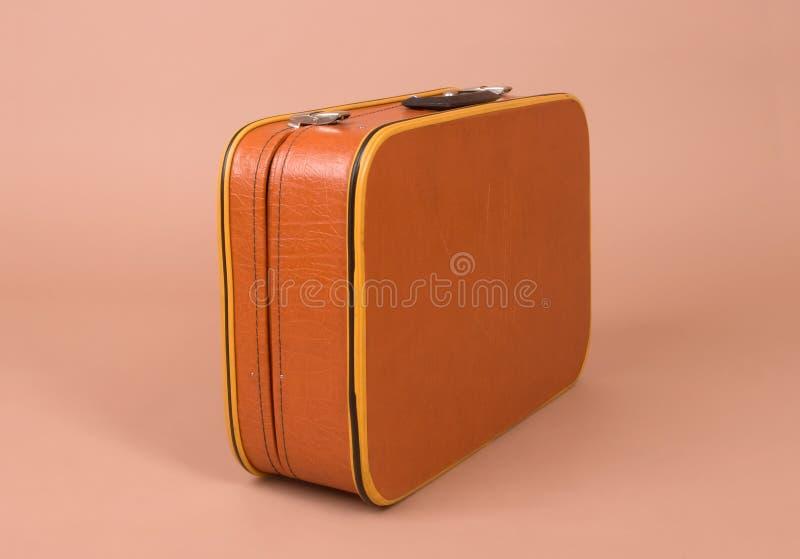 Retro suitcase stock photo