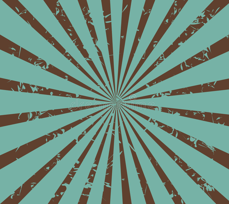 Download Retro sunburst stock vector. Image of teal, design, illustration - 8201744