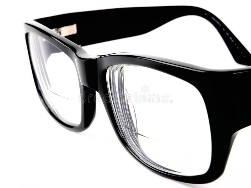 retro svart glasögon royaltyfri foto