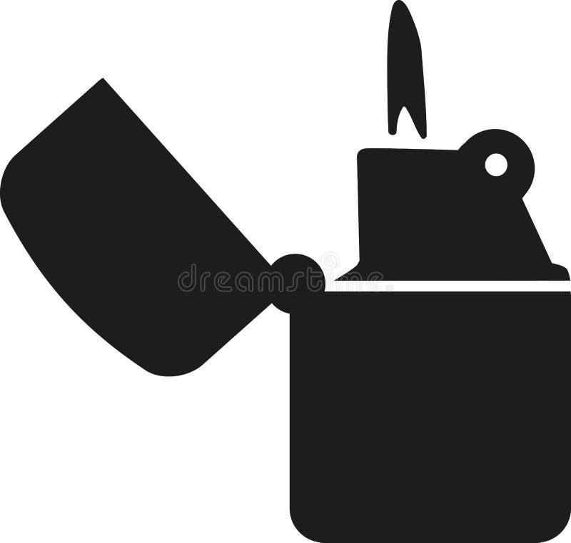 Retro tändaresymbol vektor illustrationer