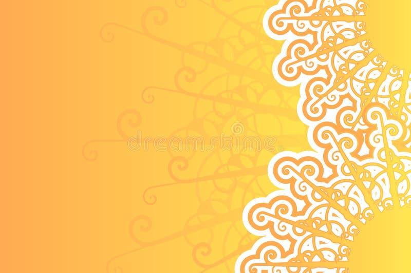 retro tła sunny ilustracja wektor