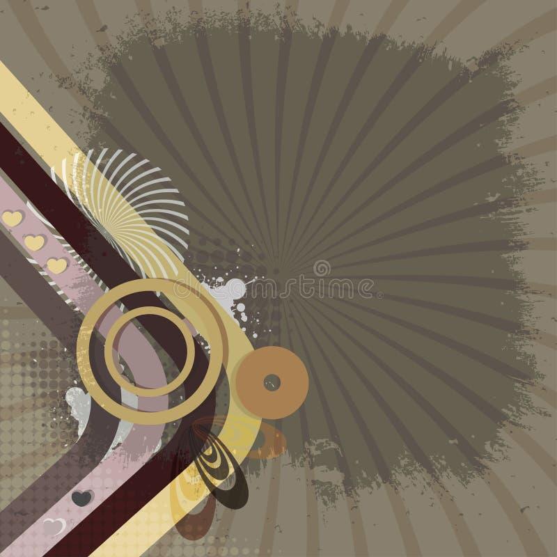 Download Retro tło ilustracja wektor. Obraz złożonej z wizerunki - 33311032