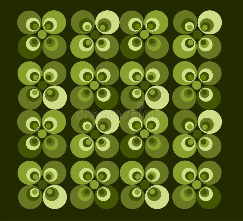 Retro Tapijt vector illustratie