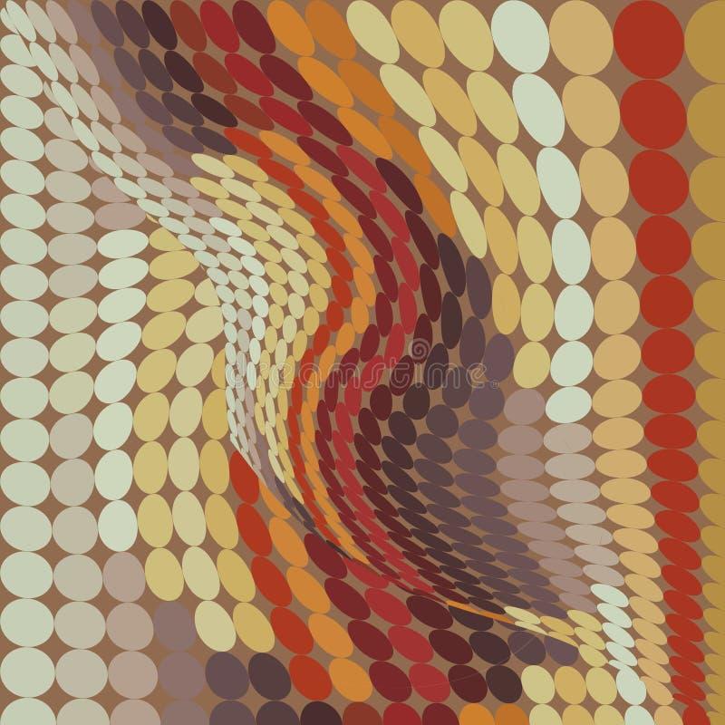retro tappning för bakgrundsprick vektor illustrationer