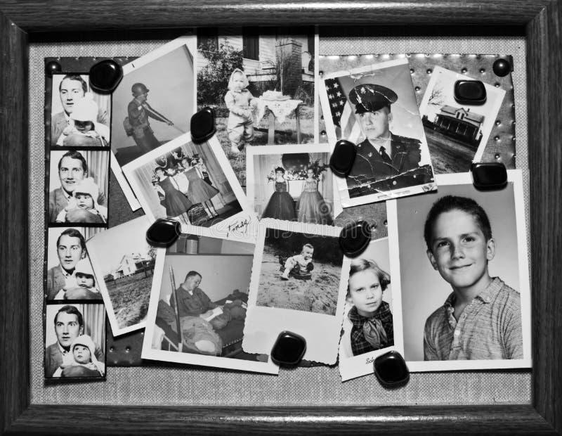 retro tappning för foto royaltyfri foto
