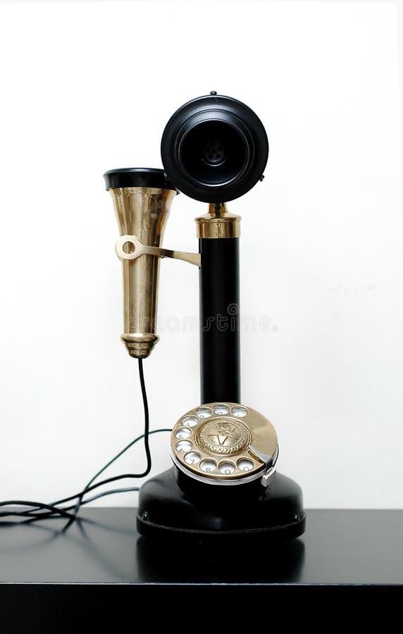 Download Retro telefono fotografia stock. Immagine di headset, manopola - 211318