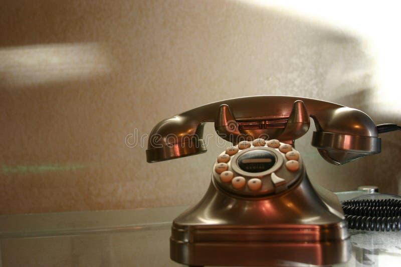 Retro telefono fotografie stock libere da diritti