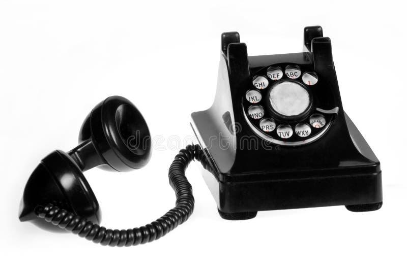 Retro telefono immagine stock libera da diritti