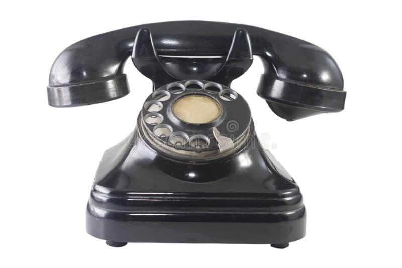 Retro telefoon 2 royalty-vrije stock afbeelding