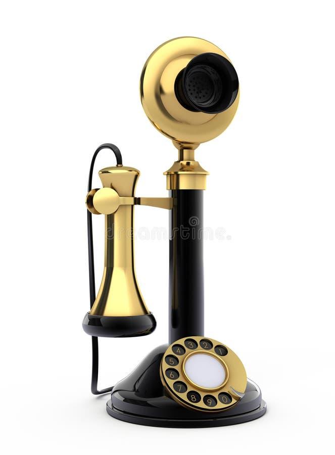 Download Retro telephone stock illustration. Illustration of connect - 15234740