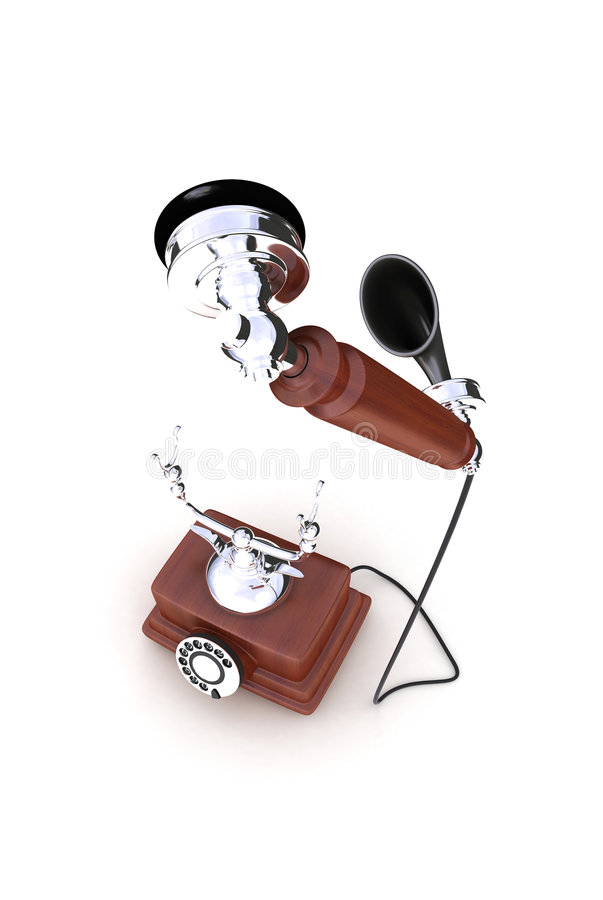 Free Retro Telephone Stock Image - 4796931