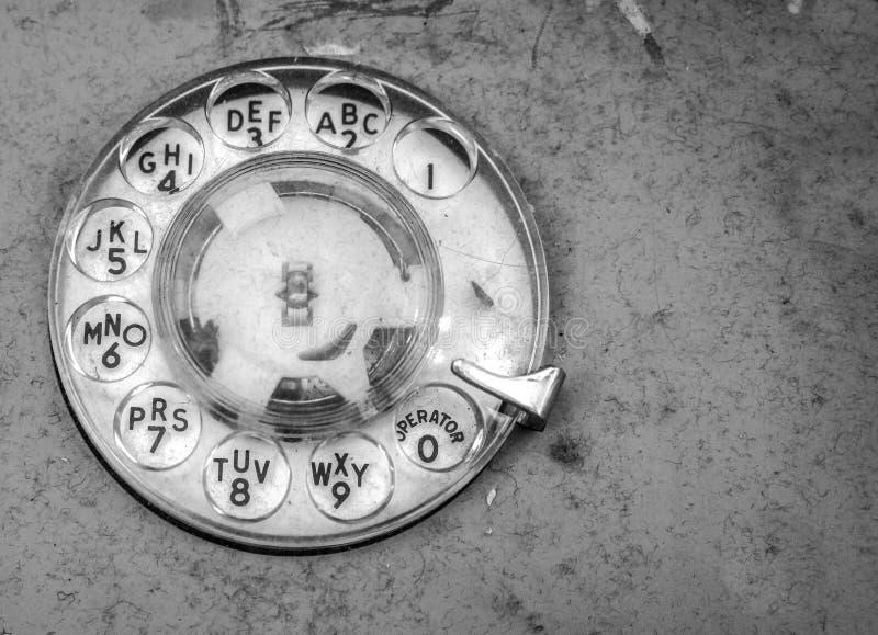 Retro telephone dial stock photos