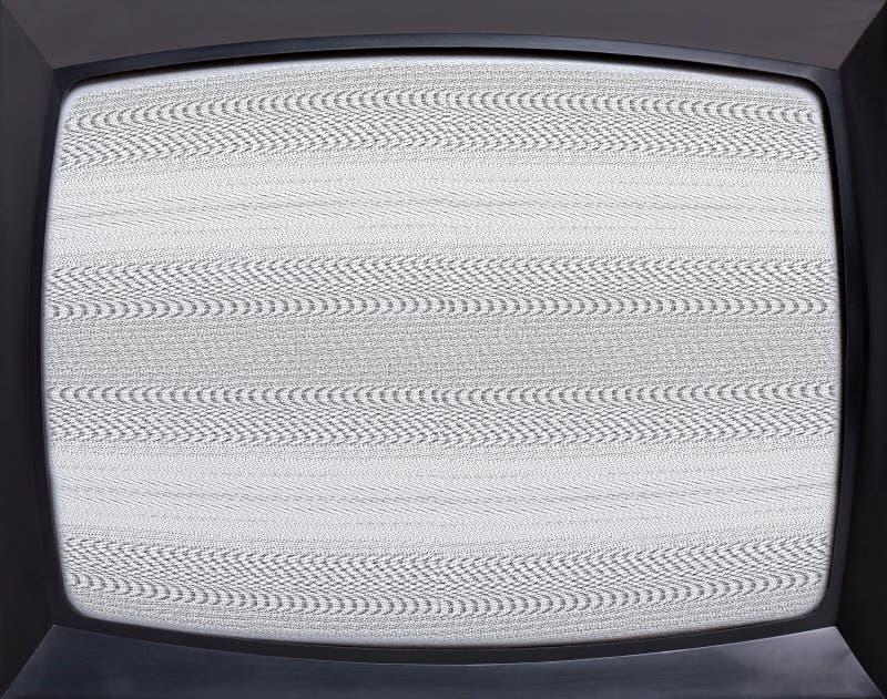 Retro televisiescherm stock afbeeldingen