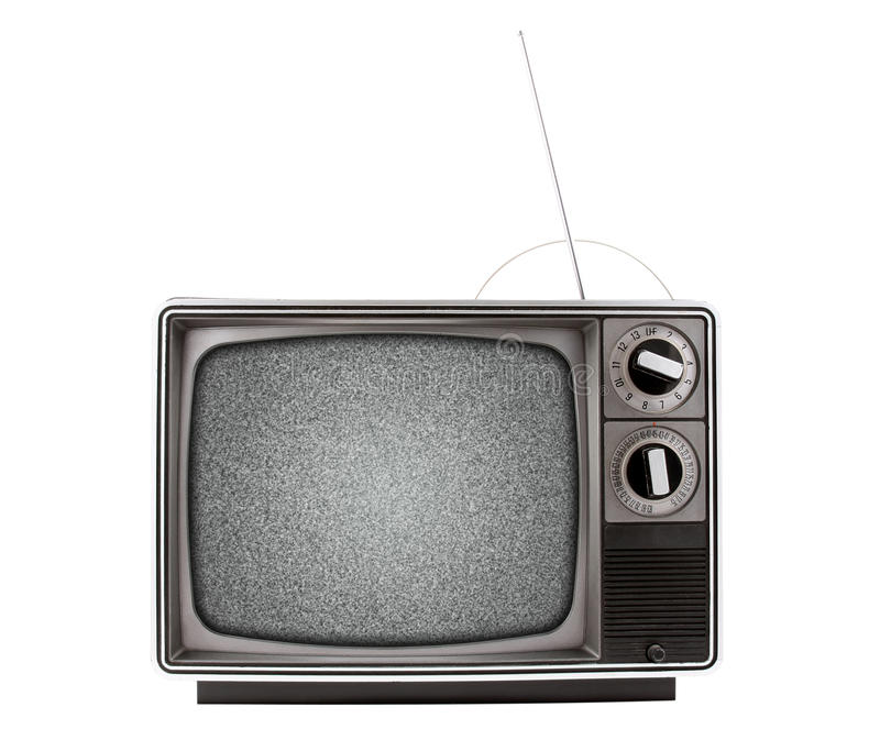 Retro Television royalty free stock photo