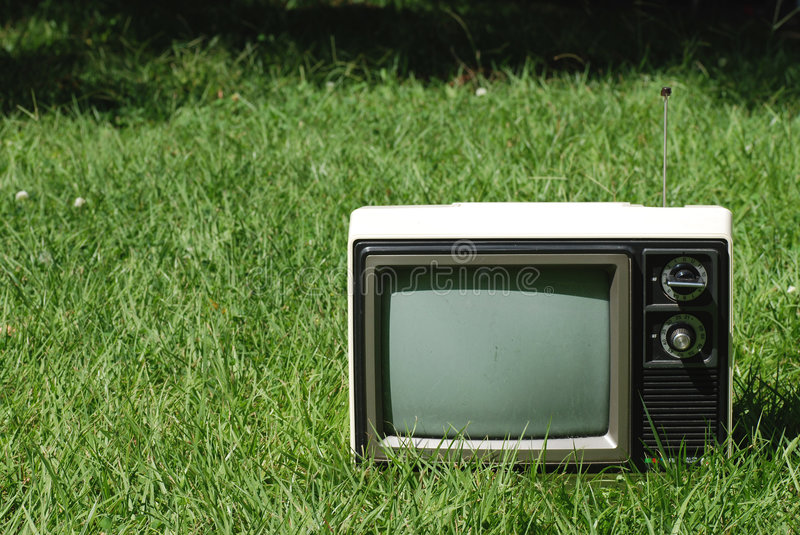 Retro Television royalty free stock photography