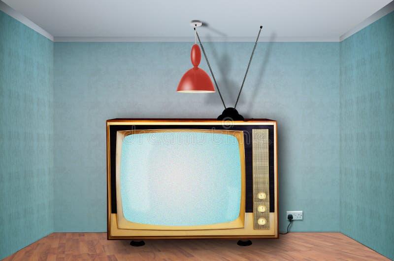 retro television royaltyfri fotografi
