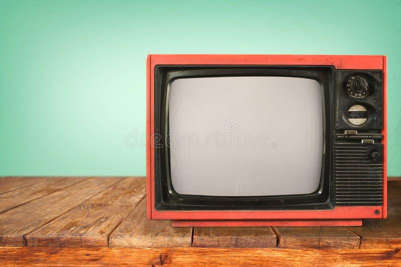retro television royaltyfri foto