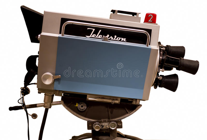 Download Retro Television Studio Camera Stock Image - Image: 21687855