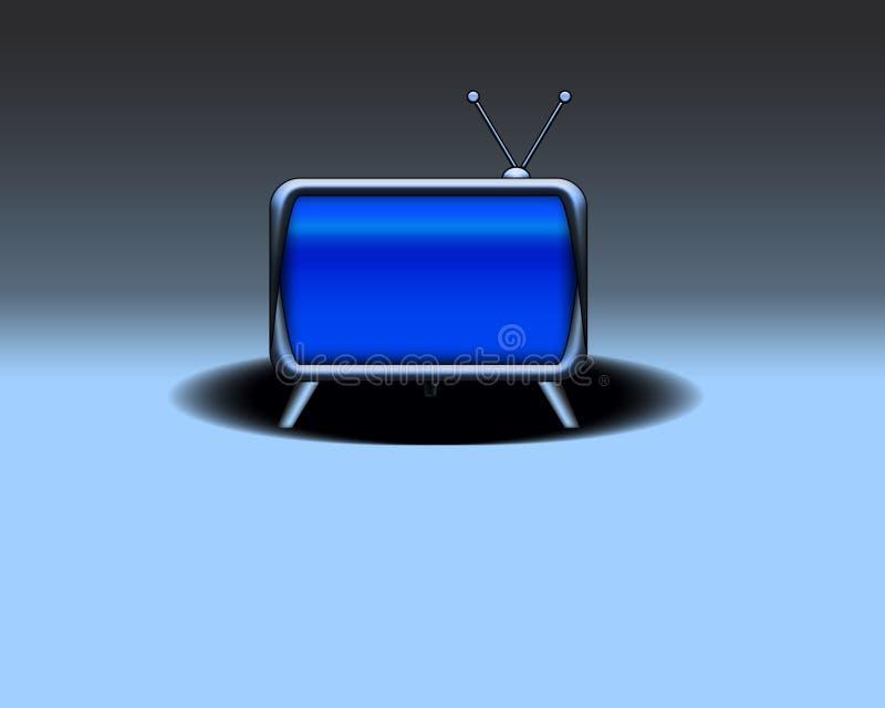 Retro televisione illustrazione di stock