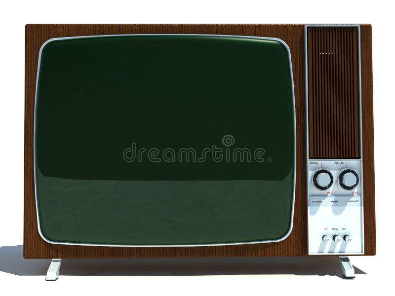 Retro televisore royalty illustrazione gratis