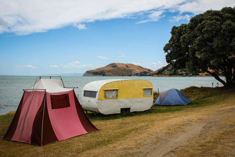 Download Retro Tents And Old Fashioned Caravan Freedom C&ing Turihaua Gisborne East Coast & Retro Tents And Old Fashioned Caravan Freedom Camping Turihaua ...