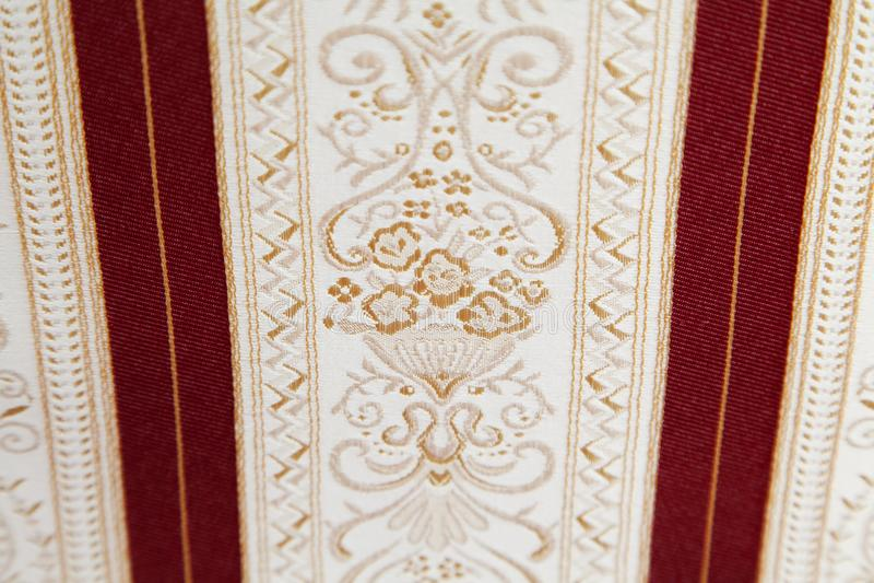 Retro tessuto di tessile immagini stock