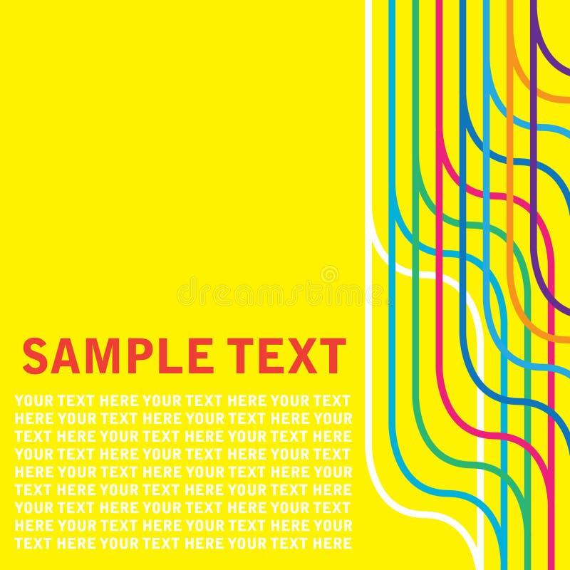 retro text vektor illustrationer