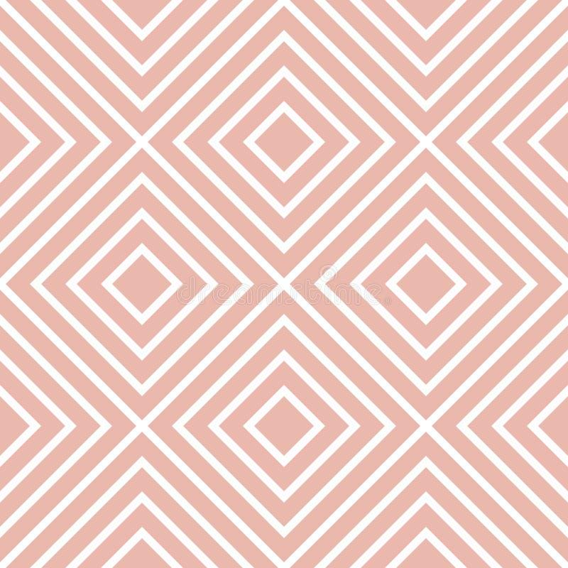 Retro texturerad fyrkant formad sömlös bakgrund vektor illustrationer