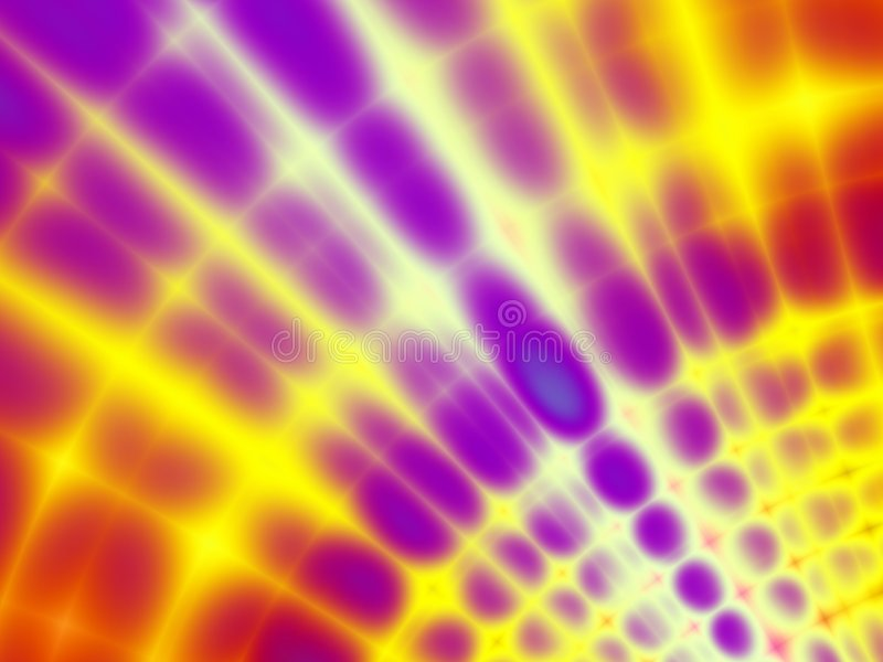 Retro Tie Dyed Fabric Pattern royalty free illustration