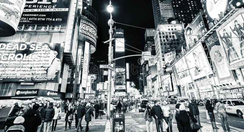 Retro Times Square New York royalty free stock photos