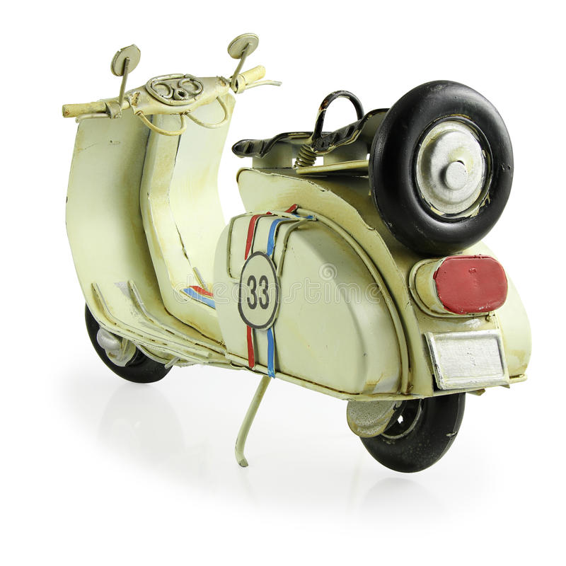 Free Retro Toy Motorcycle Stock Images - 53129634
