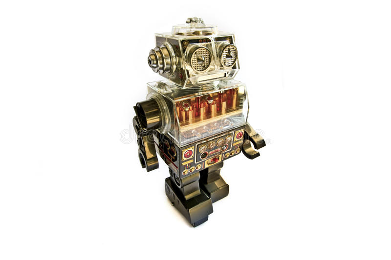 Download Retro Toy Robot Stock Photography - Image: 14312742
