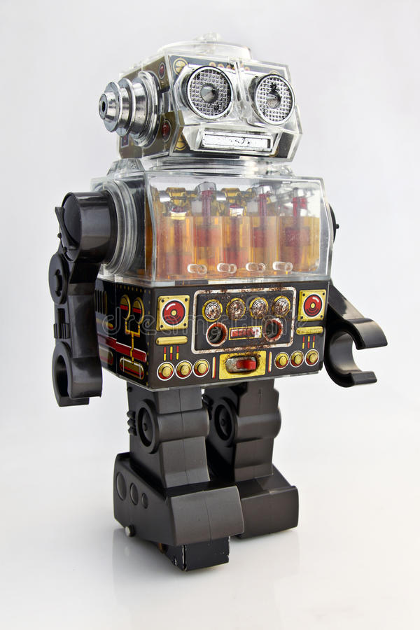 Retro Toy Robot Stock Images