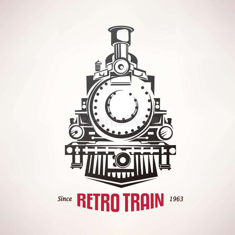Free Retro Train, Vintage Vector Symbol Stock Images - 61952284