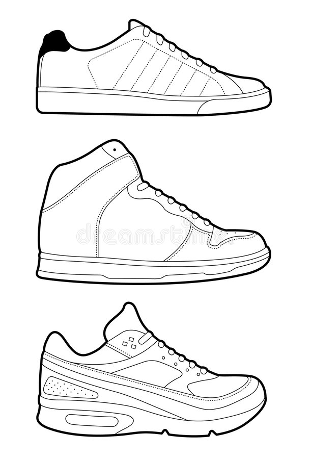 Free Retro Trainers Royalty Free Stock Photography - 4683157