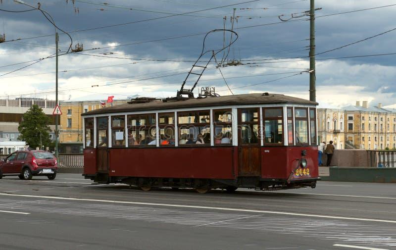retro tramwaj obraz royalty free