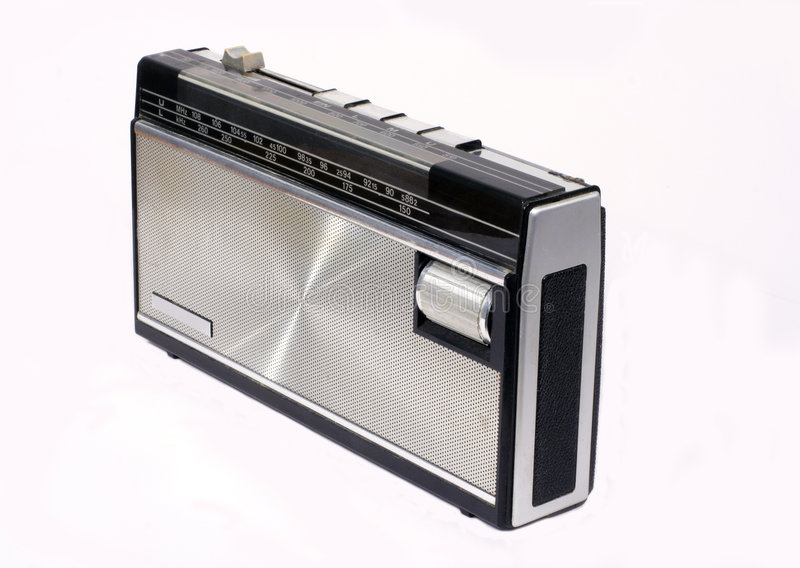 Retro Transistor Radio stock images