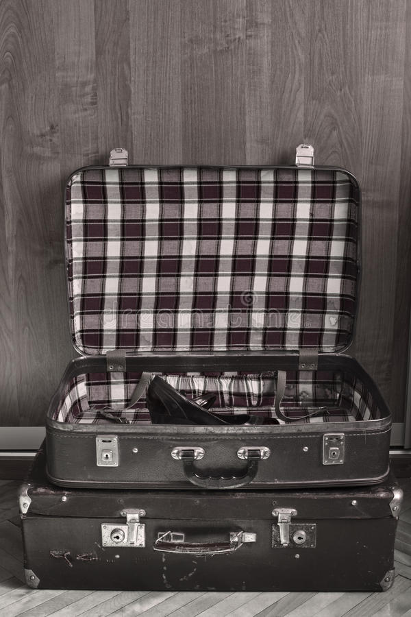 Download Retro travel suitcases stock photo. Image of rusty, relocating - 21941478