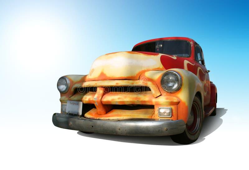 Download Retro truck stock image. Image of horizontal, hotrod, chevy - 2101311