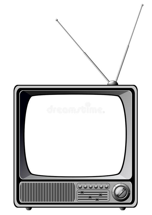 Download Retro TV stock vector. Illustration of retro, screen - 12361737