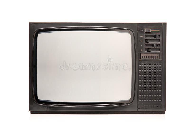 Retro TV stock image