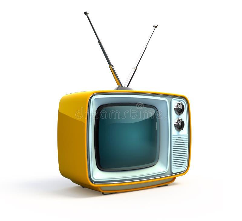 Download Retro TV stock illustration. Image of digital, obsolete - 13006823