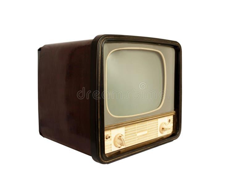 retro tv arkivfoton